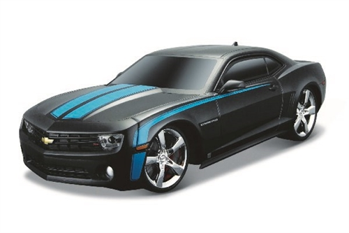 2010 CHEVROLET CAMARO RS R/C 1:24 27/40MHZ BLACK