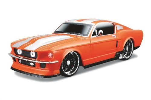 FORD MUSTANG GT R/C 1:24 27 MHZ ORANGE