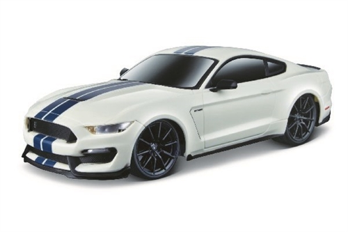 FORD SHELBY GT350 R/C 1:24 27/40MHZ WHITE