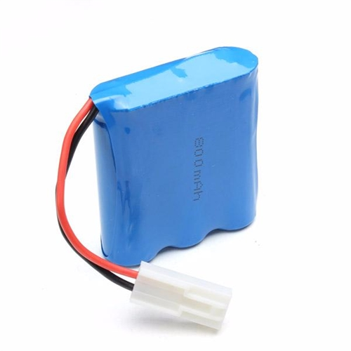 LI-ION BATTERY(9.6V 800MAH) til WILD CHALLENGER MONSTER TRUCK 1:12 (2WD)