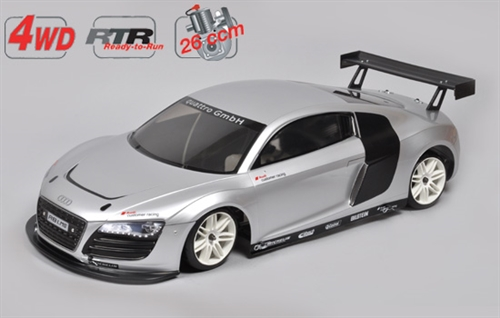 4WD 530 RTR Chassis + Audi R8 Malet