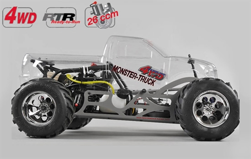 FG Monster Truck 4WD Off Road RTR klar karosseri