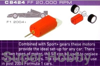 Formel 1.  motor 20,000 rpm with wires