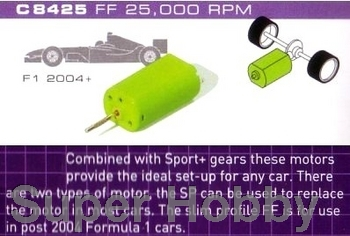 Formel 1.  motor 25,000 rpm with wires