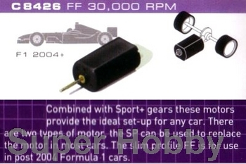 Formel 1.  motor 30,000 rpm with wires