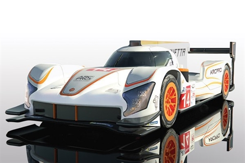 GINETTA G60-LT-P1 NO 14 - WHITE & ORANGE