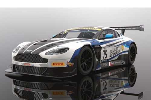 ASTON MARTIN GT3 - BRITISH GT 2018 - FLICK HAIGH