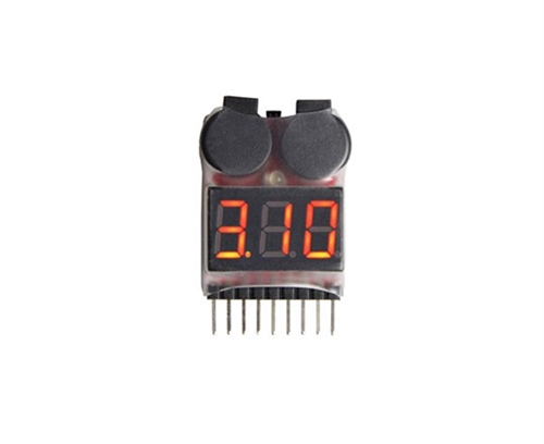 MAXAM LOW VOLTAGE BUZZER / 1-8 LIPO