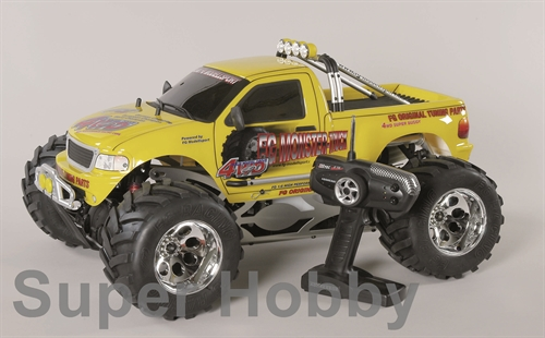 FG Monster Truck 4WD Off Road RTR  Gul karosseri