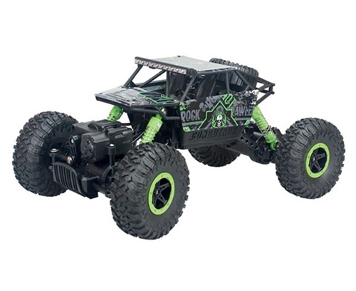 ROCK CRAWLER RC CAR 1:18 GREEN