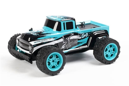 "PICKUP 1:14 2,4 GHZ R/C ""GO FIERCE"" TURQUOISE +USB"