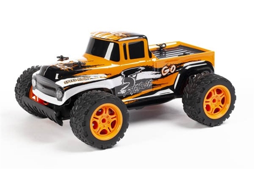 "PICKUP 1:14 2,4 GHZ R/C ""GO FIERCE"" ORANGE +USB"