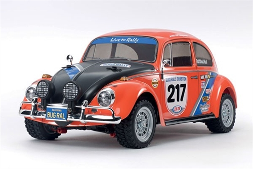 1/10 R/C VW BEETLE RALLY (MF-01X)  Samlesæt