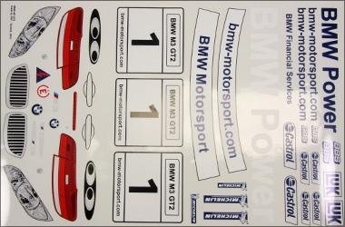 Decal BMW ALMS set