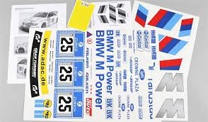 Team decal BMW ALMS set