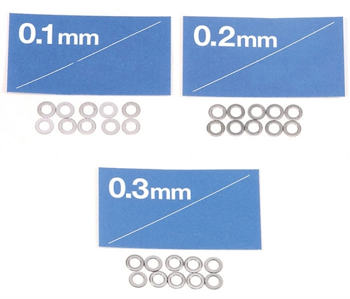 Ø3mm Cims 0.1 , 0.2 , 0.3mm tyggelse ( 3x10 stk. )
