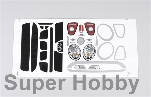 Decal set Mini Cooper set