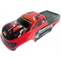 1:10 MONSTER TRUCK PAINTED BODY RED (MT)