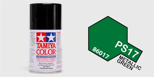 Tamiya spray Metallic Green