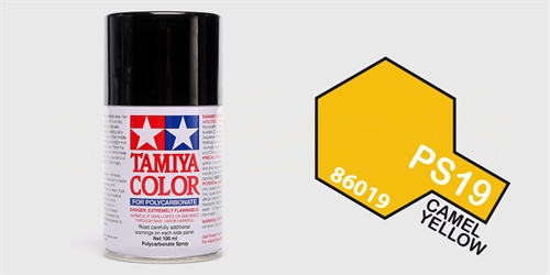 Tamiya spray Metallic Yellow