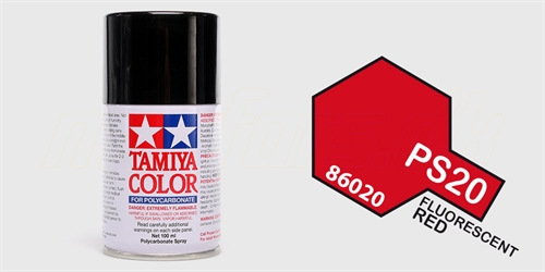 Tamiya spray Fluorescent Red