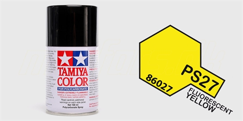 Tamiya spray Fluorescent Yellow