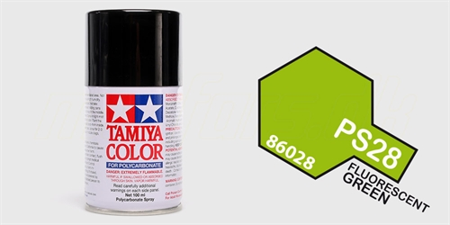 Tamiya spray Fluorescent Green
