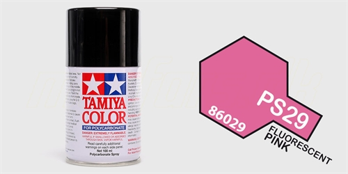 Tamiya spray Fluorescent Pink