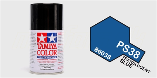 Tamiya spray Translucent Blau