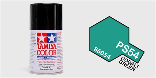 Tamiya spray Cobalt Green