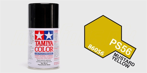 Tamiya spray Mustard Yellow