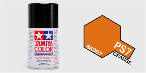 Tamiya spray Orange